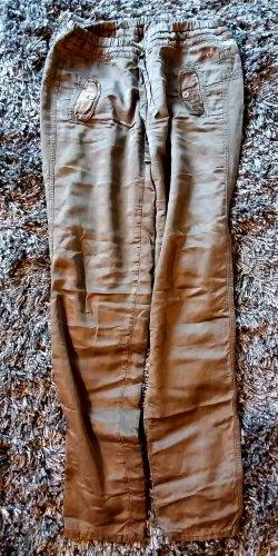 Deha High Waist Trousers green grey