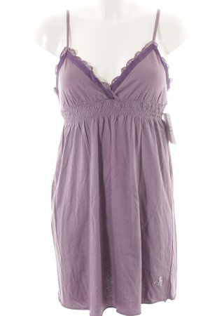 Deha House-Frock purple casual look