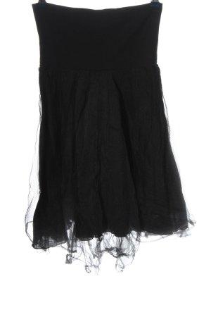 Deha Tiulowa spódnica czarny Styl klasyczny