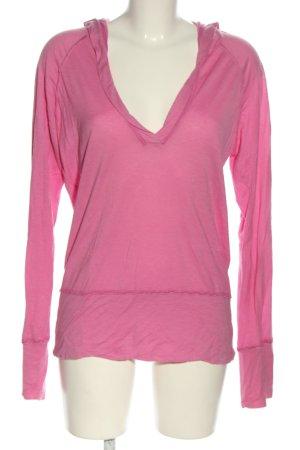 Deha Top à capuche rose style décontracté