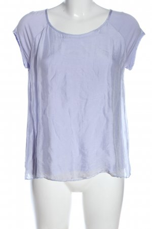 Deha Short Sleeved Blouse lilac casual look