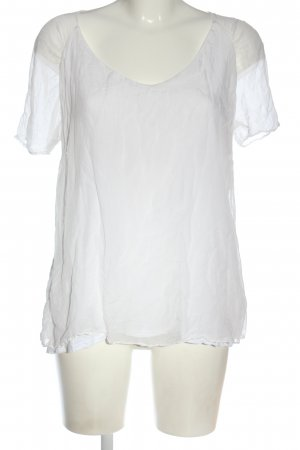 Deha Short Sleeved Blouse white casual look