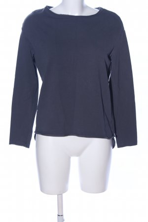 Deha Longsleeve blau Business-Look