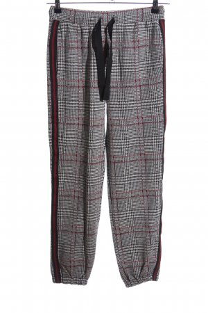 Deha Pantalon de jogging motif à carreaux style décontracté