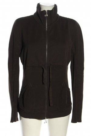 Deha Sweatjacke braun Casual-Look