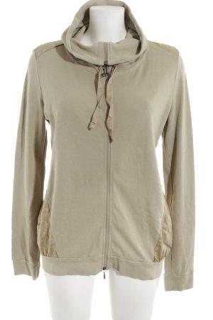 Deha Sweat Jacket green grey-sand brown casual look
