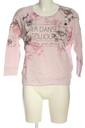 Deha Sweatshirt pink Motivdruck Casual-Look