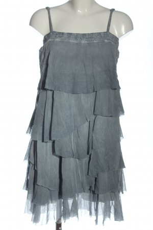 Deha Pinafore dress light grey elegant