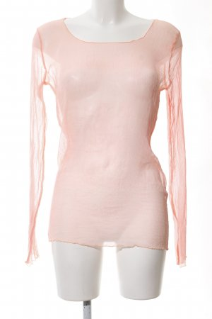 Deha Transparenz-Bluse pink Casual-Look