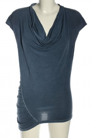 Deha Waterval shirt blauw-wolwit casual uitstraling