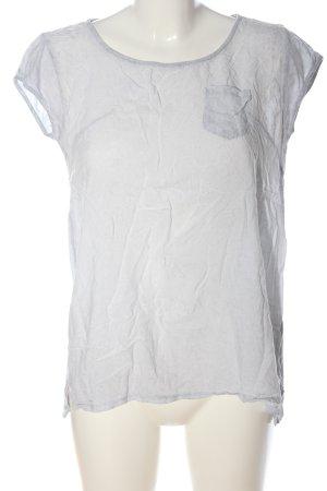Deichgraf Basic Shirt light grey flecked casual look