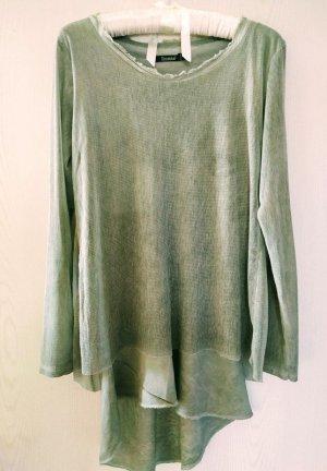Deichgraf Long Shirt pale green cotton