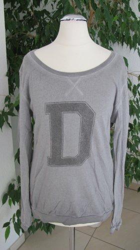 Deichgraf Sweat Shirt silver-colored cotton