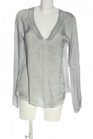 Deichgraf Long Sleeve Blouse light grey casual look