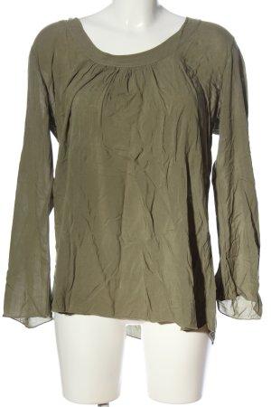 Deichgraf Langarm-Bluse khaki Casual-Look