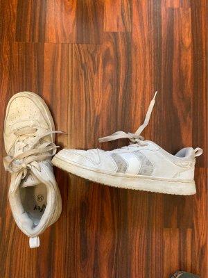 Deichmann Sneaker con zeppa bianco