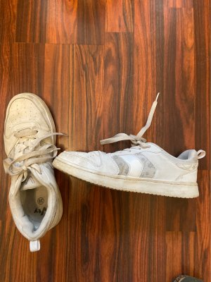 Deichmann Wedge Sneaker white