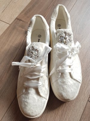 Deichmann Lace-Up Sneaker natural white
