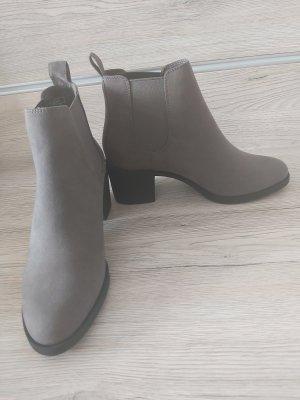 Deichmann Chelsea Boots grau schwarz *NEU*