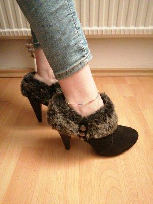 Deichmann High Heel Boots black