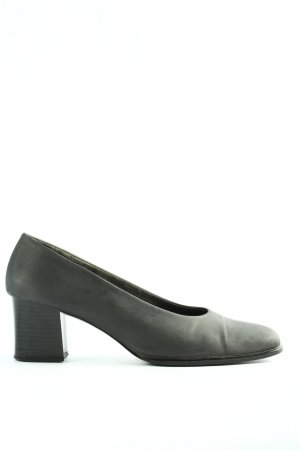Deichmann High-Front Pumps light grey business style