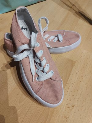 Deichmann Plateau Platform Sneaker rosa