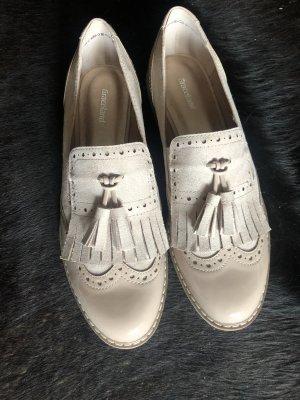 Deichmann Zapatos formales sin cordones crema