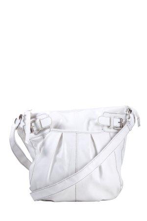 Deichmann Shoulder Bag white business style