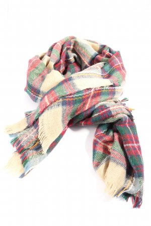Deichmann Knitted Scarf check pattern casual look
