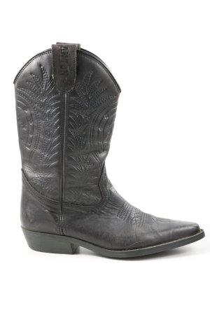 Deichmann Western Boots black casual look