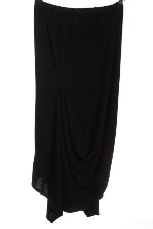 deja-vu Falda larga negro estilo «business»