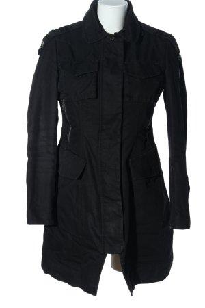 Dek'her Quilted Jacket black casual look