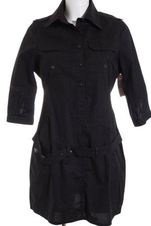 Dekk Her Blusenkleid schwarz Casual-Look