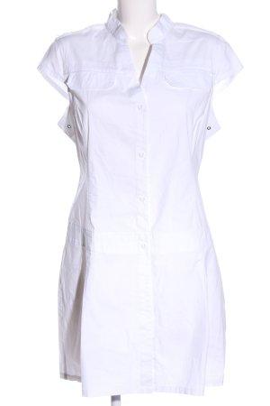 Dekker Hemdblusenkleid weiß Casual-Look