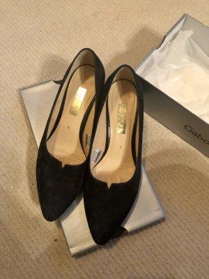 Gabor Zapatos estilo Richelieu azul oscuro-azul