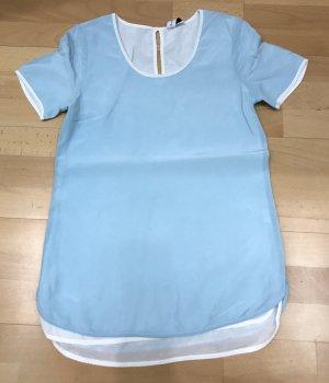 Delicate Love Blusenshirt im Layering Look Pastelltöne