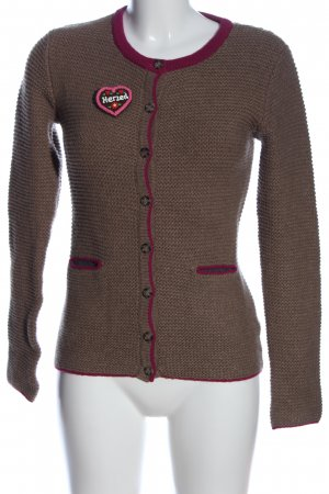 Delicate Love Cardigan braun Casual-Look