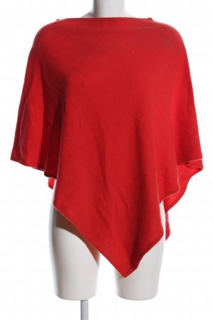 Delicate Love Poncho rot Casual-Look