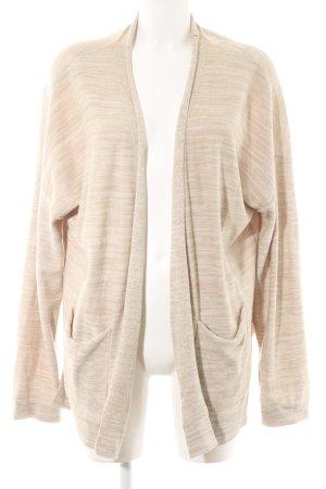 Delicate Love Shirtjacke weiß-beige meliert Casual-Look