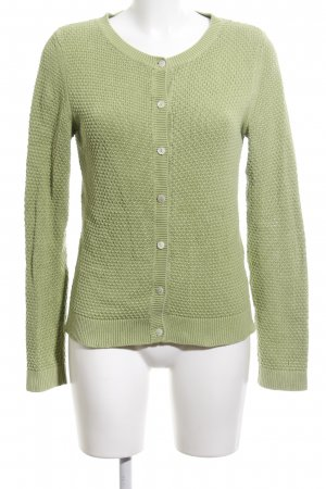 Delicate Love Strick Cardigan grün Casual-Look