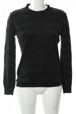 Delicate Love Strickpullover schwarz Casual-Look