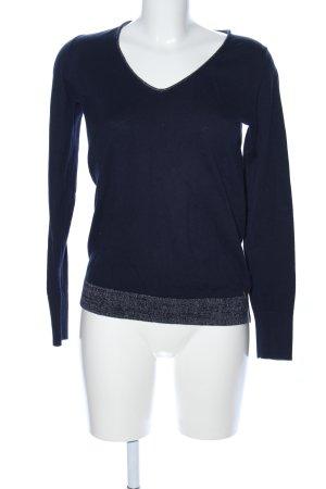 Delicate Love V-Ausschnitt-Pullover schwarz Casual-Look