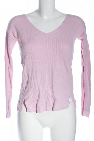 Delicate Love V-Ausschnitt-Pullover pink Casual-Look