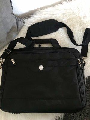 Funda para portátil negro-color plata