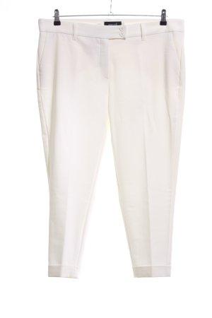 Delmod Pantalon wolwit zakelijke stijl