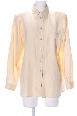 Delmod Hemd-Bluse creme Casual-Look
