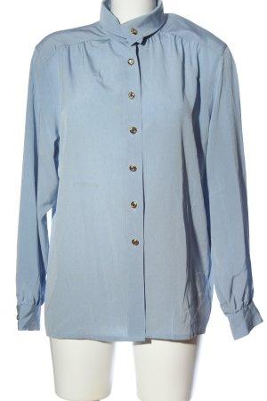 Delmod Hemd-Bluse blau Business-Look