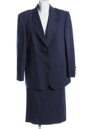 Delmod Kostüm blau Business-Look