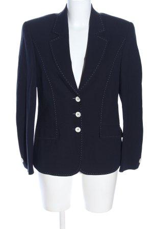 Delmod Kurz-Blazer blau Business-Look