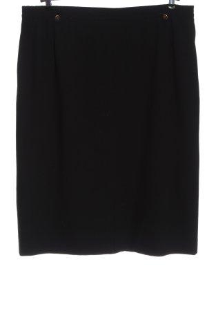 Delmod Wool Skirt black casual look